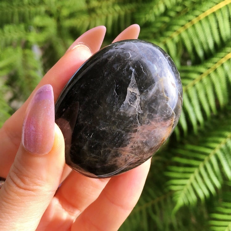 Black Moonstone specimen #4