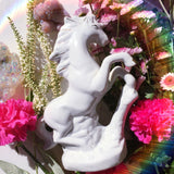 VINTAGE CERAMIC UNICORN FIGURINE