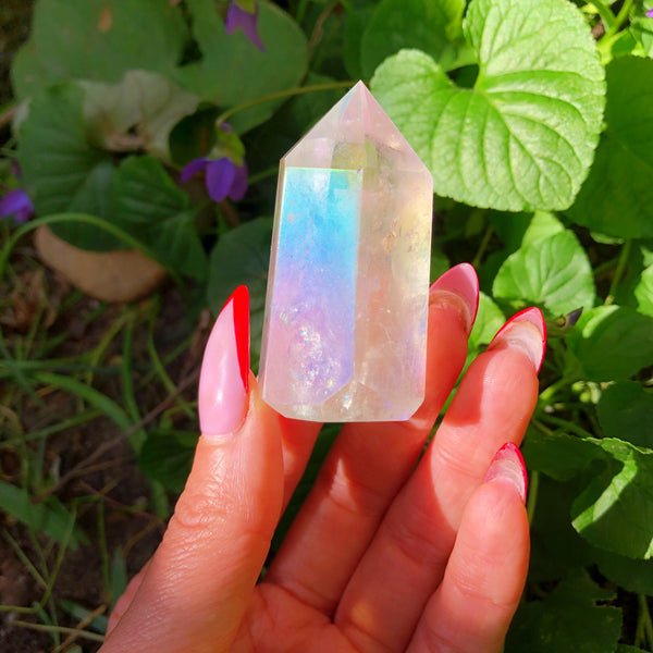 Angel Aura Quartz Crystal Generator Point #1