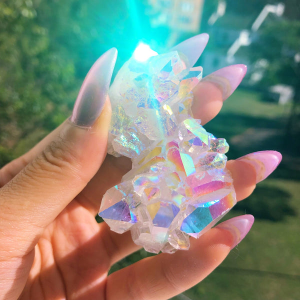 Angel Aura Quartz Cluster #2