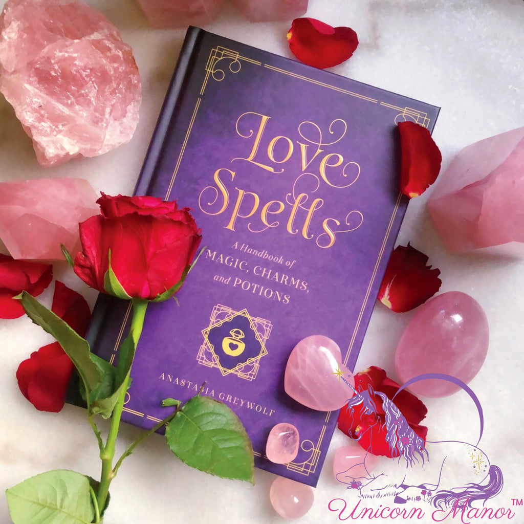 Love Spells: A Handbook of Love Spells, Charms and Potions (Hardcover)