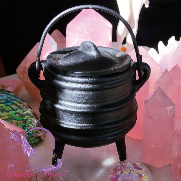 Witch's Cast Iron Traditional Mini Cauldron