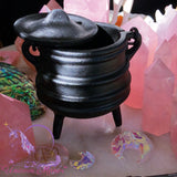 Witch's Cast Iron Mini Cauldron