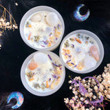 MYSTIC UNICORN Moonchild Luxury Crystal Candle
