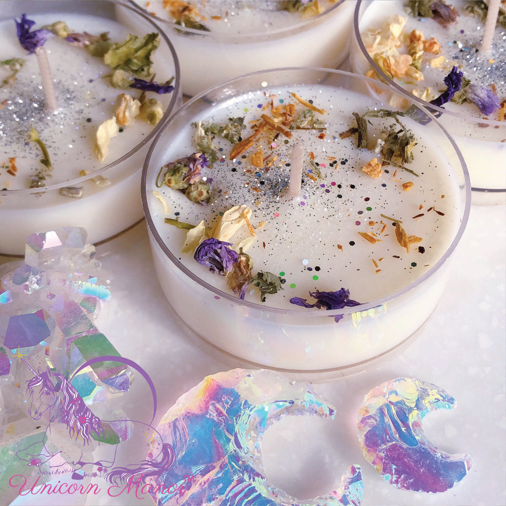 Mystic Unicorn Moonchild Maxi Tealight Set
