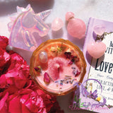 Limited Edition MYSTIC UNICORN The Lovers Luxury Crystal Candle