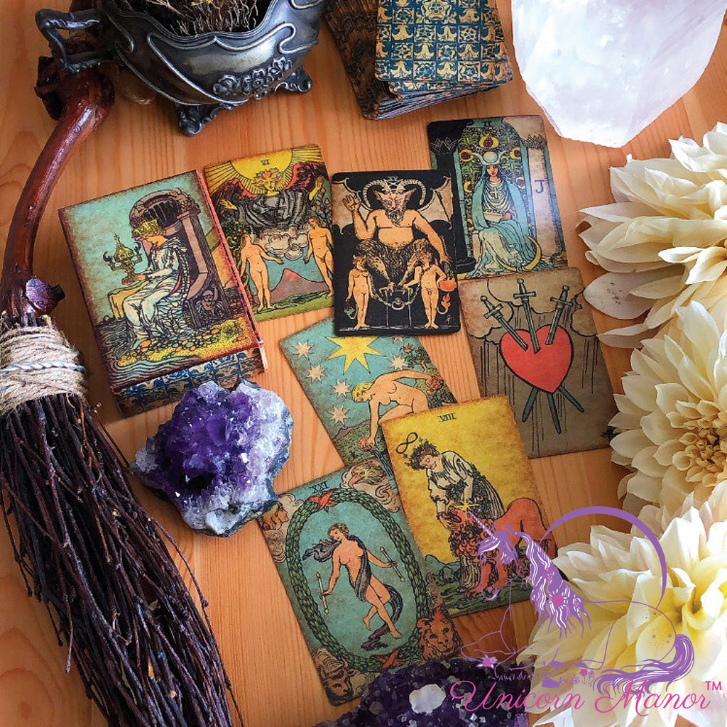 Pamela Colman Smith Vintage Tarot Deck (Limited Edition)