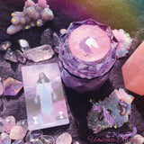 Limited Edition MYSTIC UNICORN Temperance Luxury Crystal Candle