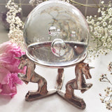 VINTAGE UNICORN CRYSTAL BALL STAND #1
