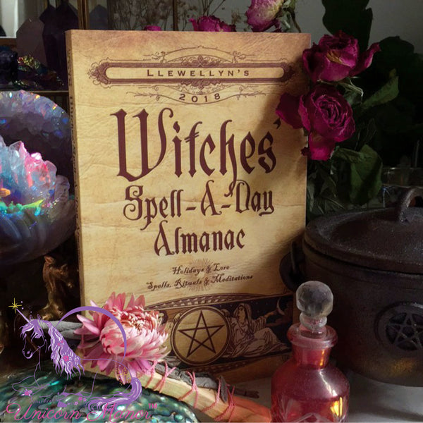 2018 Llewellyn's Witches' Spell-a-Day Almanac