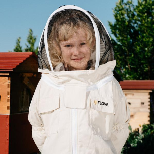 Beekeeping Suit - Unbleached Organic Cotton - Child