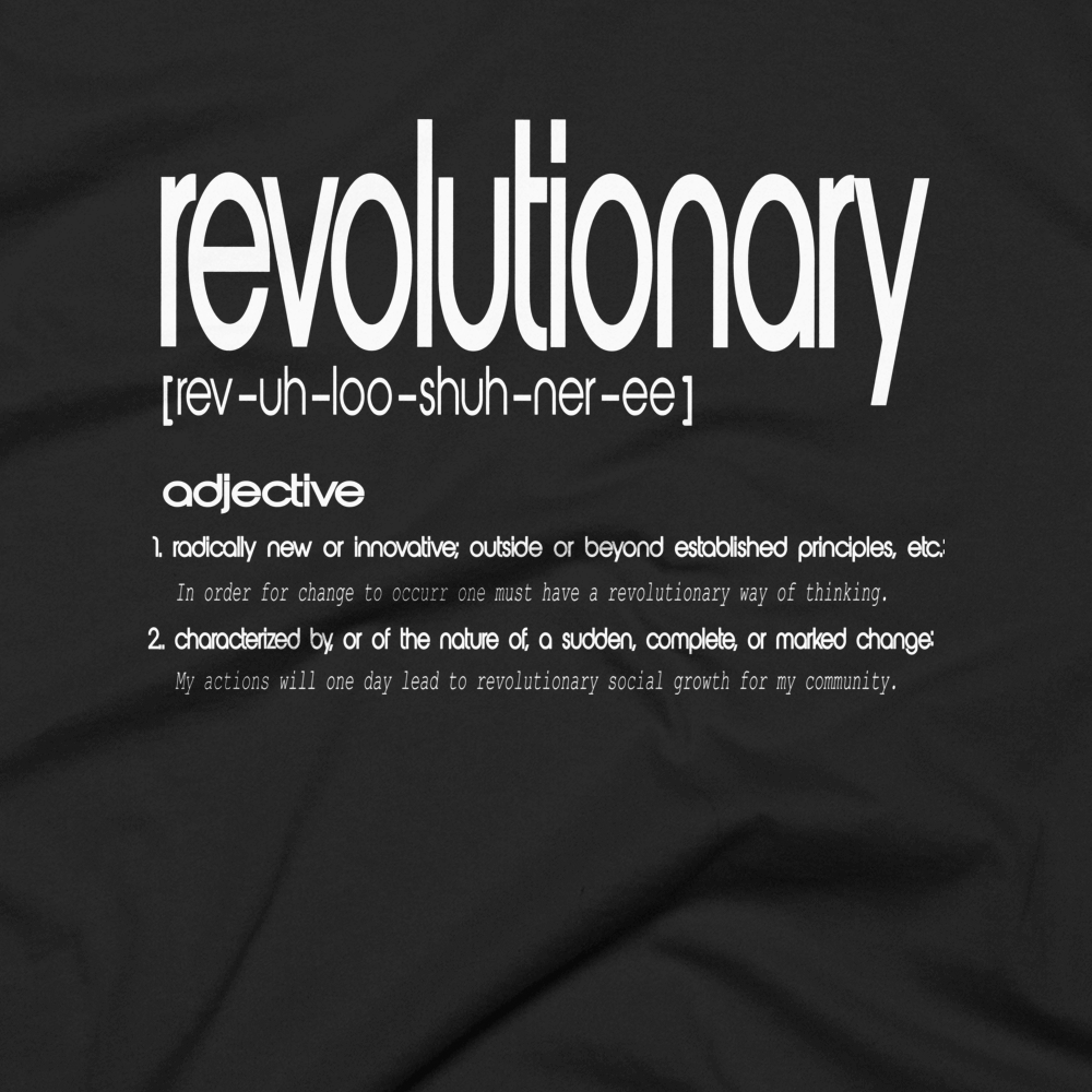 The Revolutionary Tee: Dictionary Edition Series