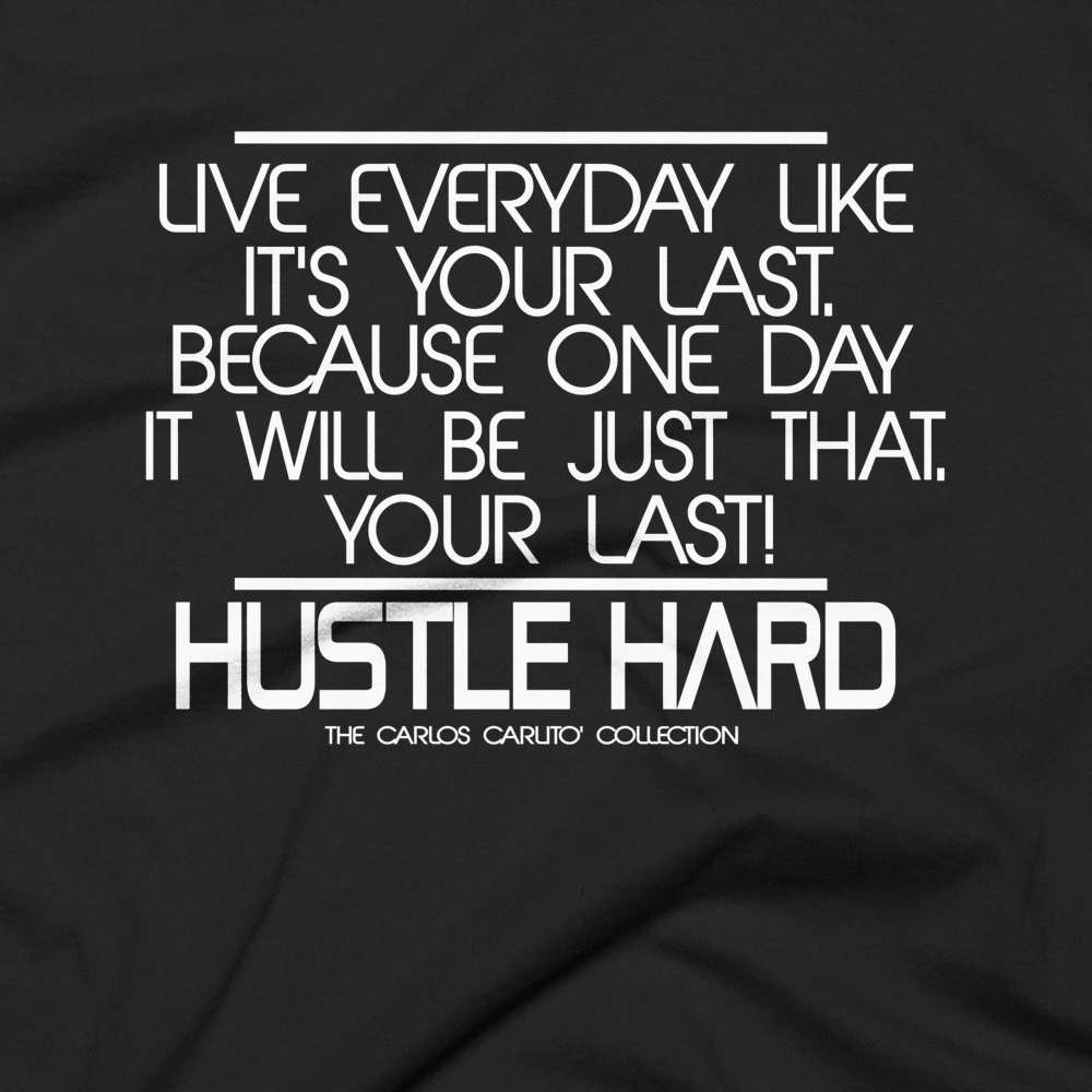 The Hustle Hard Tee