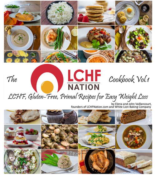 LCHF Nation Cookbook  Vol. 1