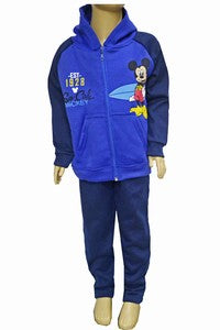 Boys Toddler Mickey Mouse 2 Piece Hooded and Pants
