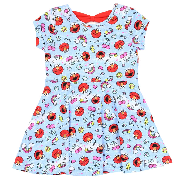 Elmo and Emoji Print Dress