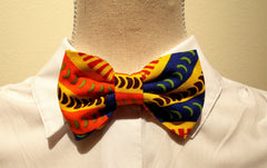 African Print  Boys Bowties with Adjustable Neck Closure