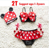 Minnie Mouse Bathing Suit with Polka Dots