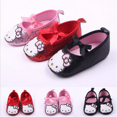 Hello Kitty Newborn  Crib Shoes