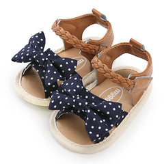 Polka Dot Bowknot Sandals