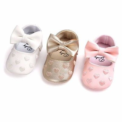 Moccasin Ballet  Heart Soft Soled First Walkers