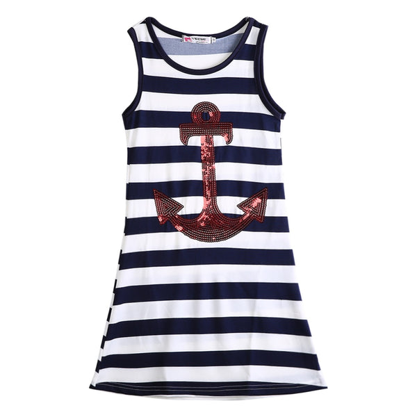 Boho Sequin Anchor Dress