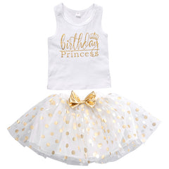Birthday Princess Top and Polka Dot Tutu