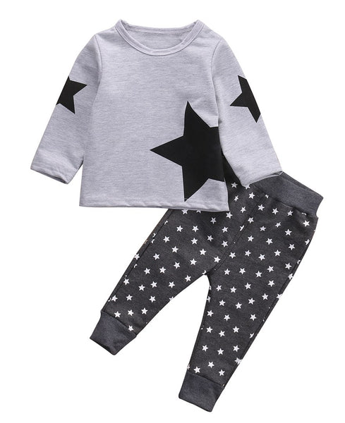 Star Fleece Jumpsuit