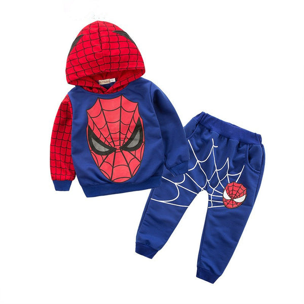 Spiderman T-Shirt + Shorts 2 Piece Outfit