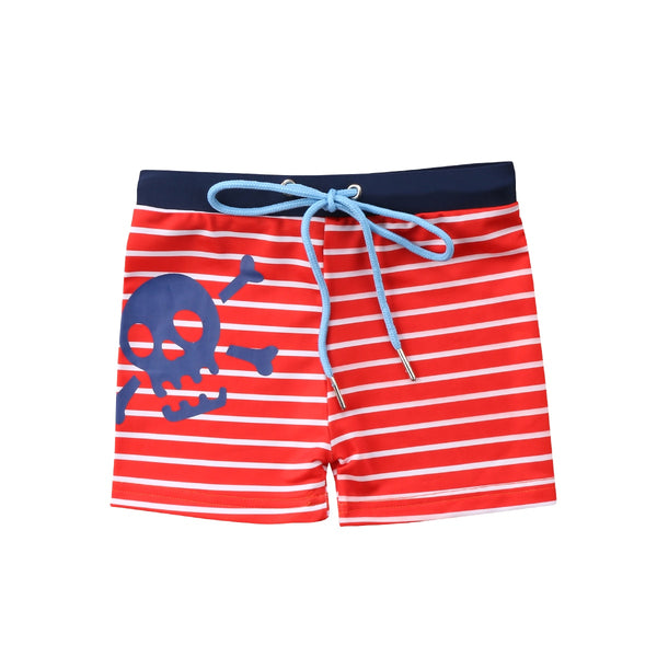 Boys  Skull Swimming Trunks