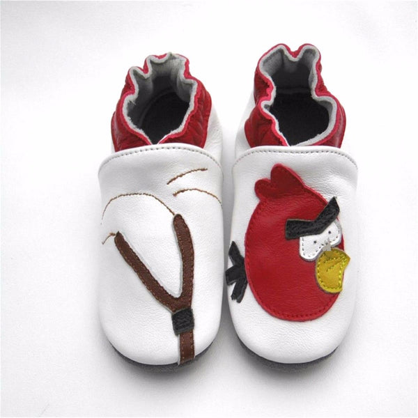 Genuine Leather Soft Sole Baby Shoes