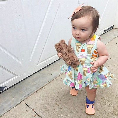 Ice Cream Romper Dress