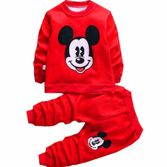 Mickey Mouse and Minnie Mouse Print Jumpsuit