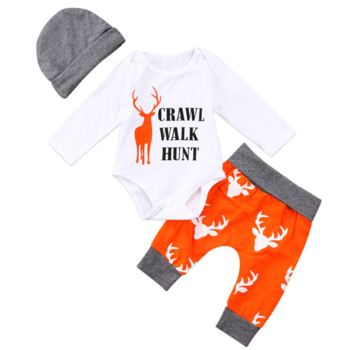 Crawl, Walk and Hunt Outfit