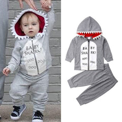 Baby Shark  Hoodie and Pants 2 Piece  Set