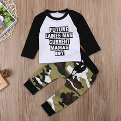 Future Ladies Man T-Shirt +Camouflage Outfit
