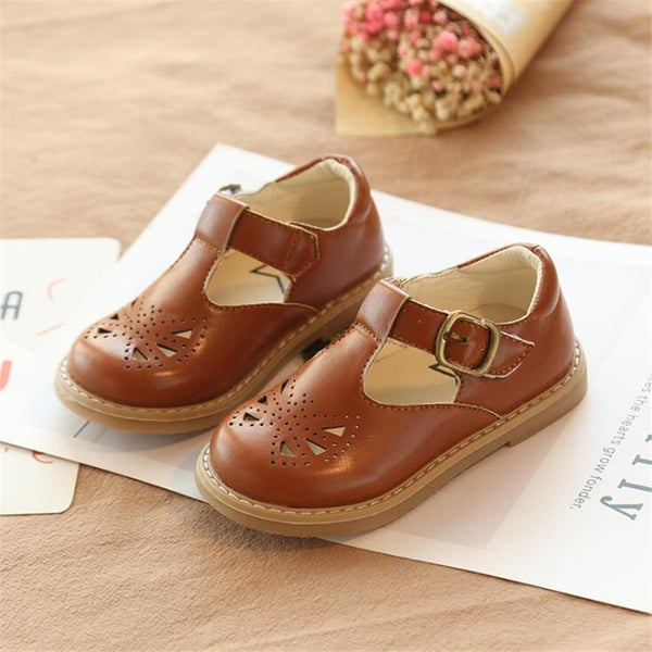 Brown Princess Decorative Non-Slip Shoes