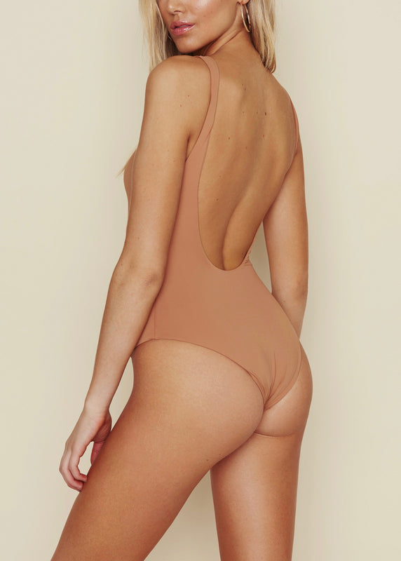 ROSEDAWN LOW BACK ONE PIECE BATHING SUIT