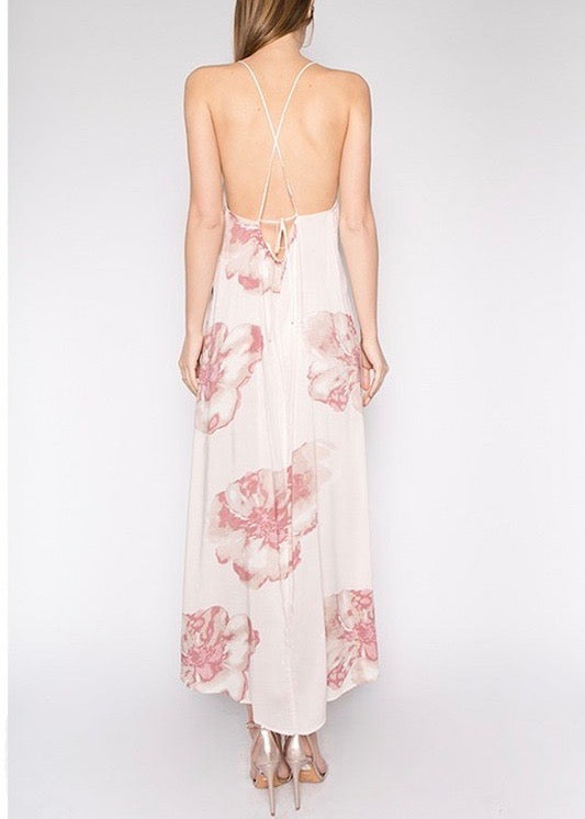 CHRISSY FLORAL MAXI DRESS