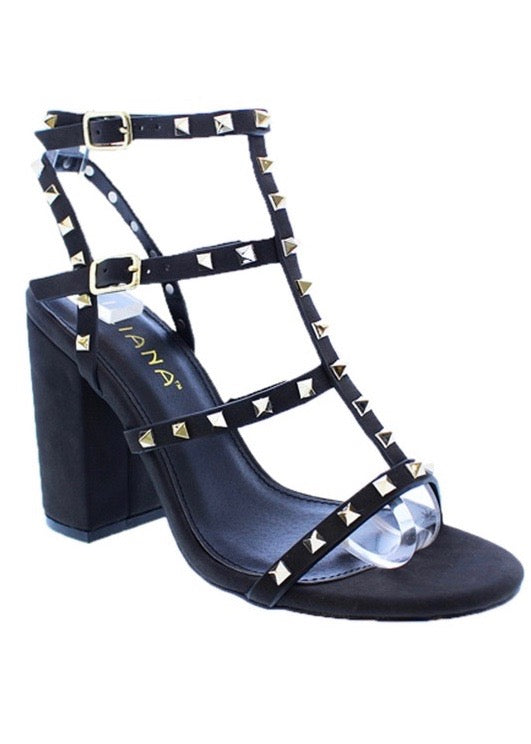 BLAIR STUDDED BLOCK HEEL