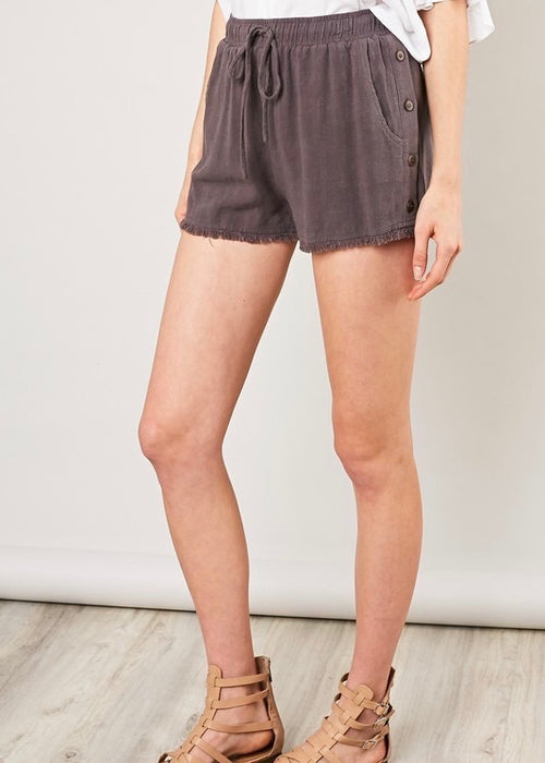 CONCRETE DRAW STRING SHORTS