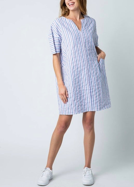 SUMMER STRIPED TUNIC