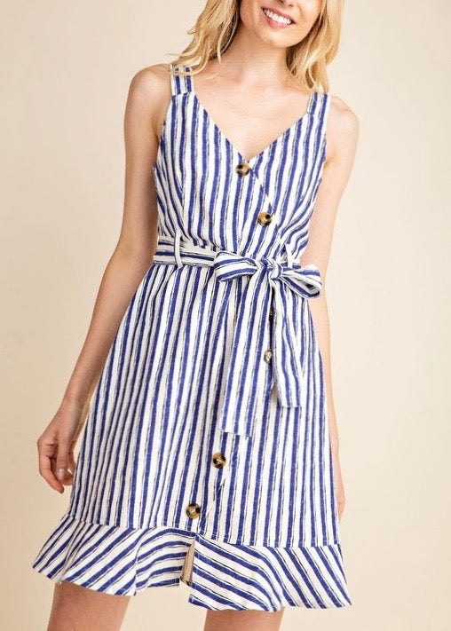 BLAIRE STRIPED DRESS
