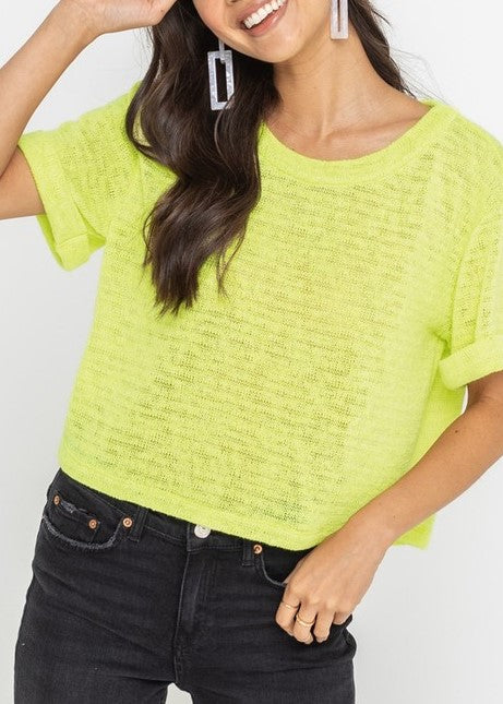 TAYLOR BOXY KNIT TOP
