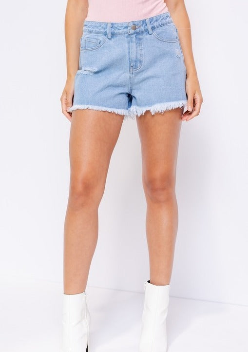 STERLING DENIM SHORTS