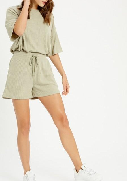 MIMI RIBBED SHORTS