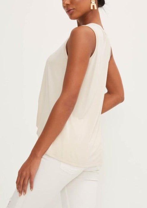LANI KNOTTED TANK TOP