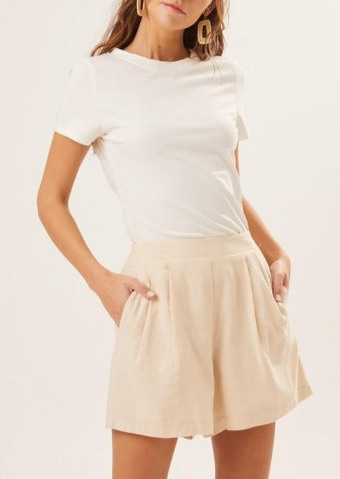 ELAINE PLEATED SHORTS