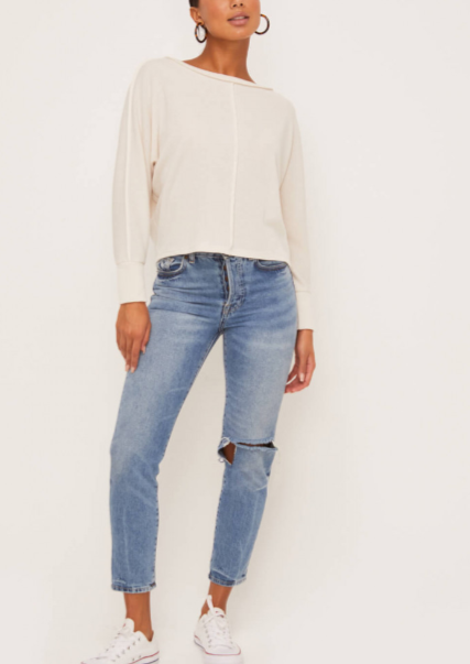 RYDER KNIT SEAM TOP
