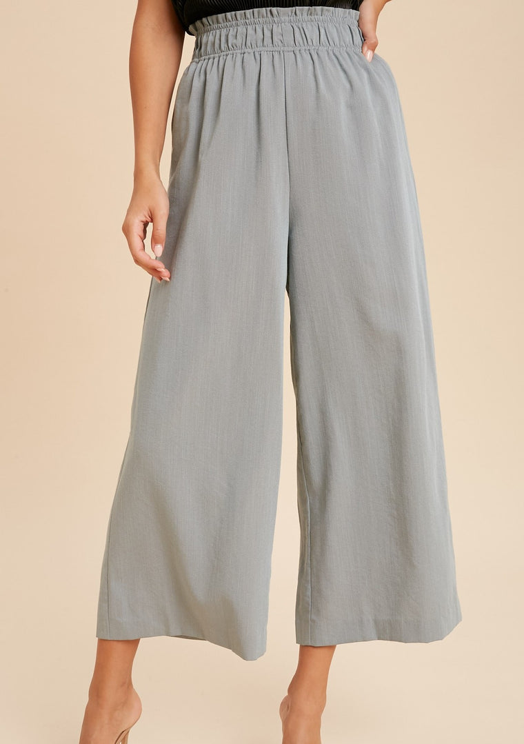 SOFIA WIDE LEG PANTS